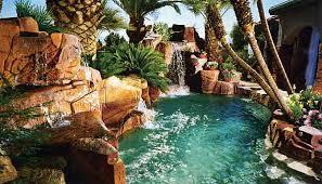 Backyard Swimming Pool Landscaping Ideas Triyae Com U003d Cool Backyard Swimming Pools Various Design