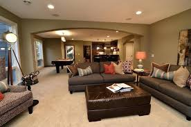 wall colors for family room basement accent wall basement wall colors family room traditional