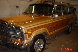 brown jeep 1983 jeep grand wagoneer information and photos momentcar