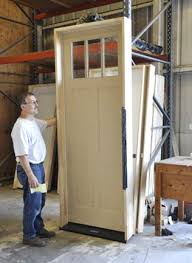 How To Install A Prehung Exterior Door How To Install A Pre Hung Door Dolan S Lumber