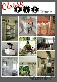 remodelaholic 10 classy pvc projects