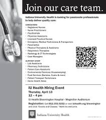 careers paoli iu health click here for a full list of positions being hired for