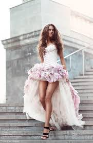 wholesale wedding dresses wedding dresses front and back a line with 3d