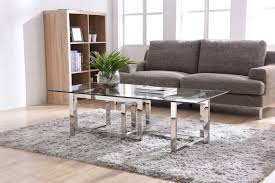 Wood And Metal Coffee Table Table Stainless Steel Coffee Table Valiant Modern Glass Modrest