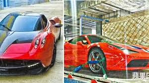 ferrari transformer transformers 4 will feature the pagani huayra and ferrari 458 speciale
