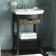 Bathroom Sinks With Storage Pedestal Sink Storage Wayfair