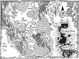 Shannara Map Left Justified Fantasy Map Tv Tropes