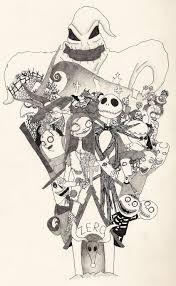 cool halloween drawings nightmare before christmas drawings u2013 festival collections
