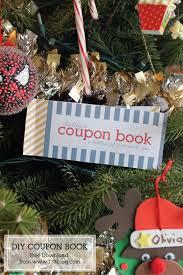holiday coupon diy coupon book free printable inspiration made simple