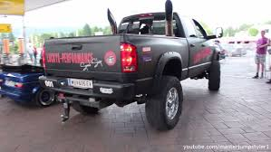 Dodge Ram Truck Generations - dodge ram 2500 tuned big exhausts engine and sound youtube