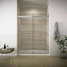 Diy Frameless Shower Doors Frameless Shower Doors Showers The Home Depot