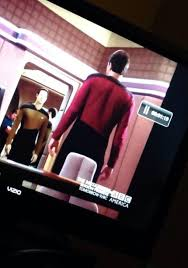 Assless Chaps Meme - at first glance it loks like riker is wearing assless chaps
