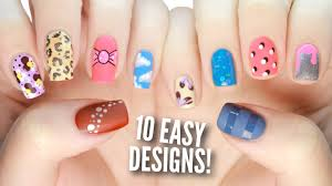 nail art nail art dezine christmas designs for beginners summer