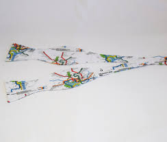 Dc Subway Map by Men U0027s Bow Tie In Washington D C Metro Map Design Self Tie