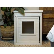 litter box end table dogipot cat litter box end table all about doody pet solutions