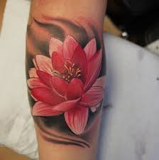3d lotus flower butterfly design idea