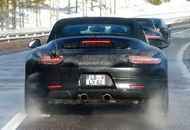 porsche 911 facelift 2015 porsche 911 facelift sports active grille shutters