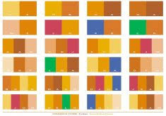 color combinations with orange two tone color schemes home design inspiration