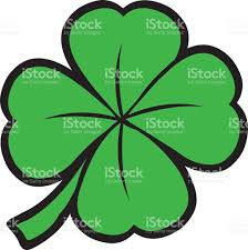 st patricks day shamrock clover leaf stock vector art 484208732