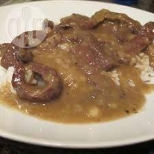 cuisiner coeur de boeuf cœur de bœuf aux oignons recettes allrecipes québec