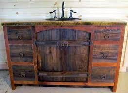 Reclaimed Wood Vanity Bathroom Weathered Gray Reclaimed Wood Bathroom Vanity
