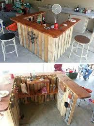 Outdoor Bars Furniture For Patios Best 25 Diy Outdoor Bar Ideas On Pinterest Pallett Bar Outdoor