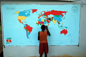 world map in ligorio u2013 it u0027s always sunny in suriname