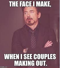 Making Out Meme - face you make robert downey jr meme imgflip
