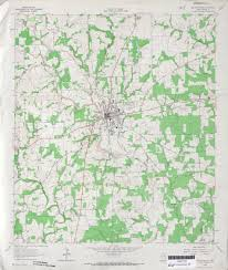 Map Of Denton County Texas Topographic Maps Perry Castañeda Map Collection Ut