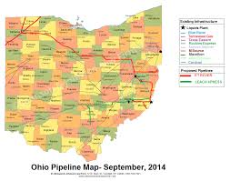Map Of Counties In Ohio Ohio Pipeline Map And Proposed Et Rover And Leach Xpress Routes