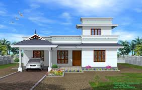 kerala house models single floor house concept by edu n1
