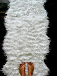 Fur Runner Rug Larson Diy Faux Fur Runner
