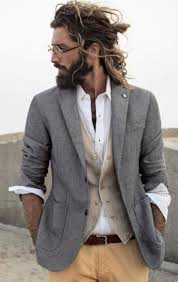 Gray Hair Mens Hairstyles by Best 20 Grey Beards Ideas On Pinterest Beards Thick Beard And