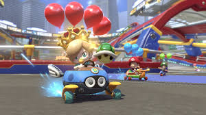 mario kart 8 deluxe features modes tracks characters 1080p
