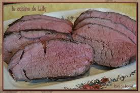 cuisine basse rôti de boeuf cuisson basse température la cuisine de lilly