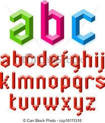 3d alphabet letters alphabet letters vector clip art search