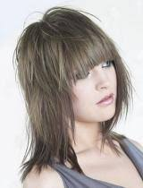 feather layered haircut feathered hairstyles