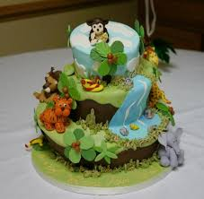 jungle baby shower cakes jungle themed baby shower cake picture of cake expressions by