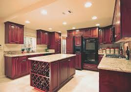 kitchen top kitchen cabinets cherry wood decor modern on cool