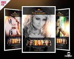 download professional photography flyer psd psddaddy com