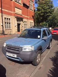 sorn 2002 land rover freelander gs 1796cc petrol 3dr manual