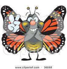 royalty free rf monarch butterfly clipart illustrations vector