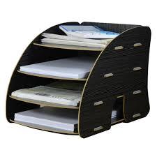 trieur papier bureau trieur vertical rangement étagère dossier papier magazine organiseur