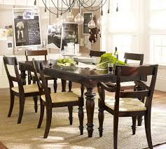elegant dining room sets dining room elegant dining room tables pottery barn sumner