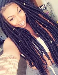 faux dreads with marley hair 40 long and short faux locs styles and how to install them