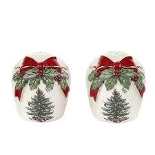 Spode Christmas Tree Santa Cookie Jar by Christmas Trees Salt And Pepper Shakers Christmas Wikii