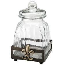 fleur de lis canisters for the kitchen fleur de lis canister things kitchens
