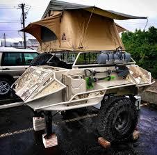 offroad trailer best offroad trailer teardrop camper conversion 3 vanchitecture