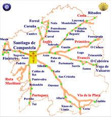 santiago de compostela camino mapas camino de santiago franc礬s etapas consejos albergues
