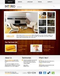 Interior Designer Website Free Ecommerce Theme Psd For Clothing Store Free Psd Templates